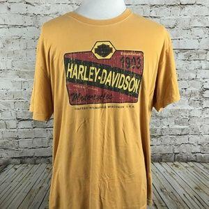 Harley-Davidson T-Shirt Size XL Greenville South